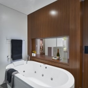 Texture as well as colour plays a part bathroom, interior design, property, real estate, room, brown, gray