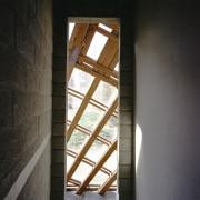 Forestry Branch – Marche-en-Famenne architecture, daylighting, light, structure, wall, window, wood, black, gray