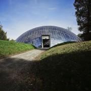 Forestry Branch – Marche-en-Famenne architecture, biome, building, grass, house, sky, structure, black