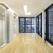 The 925 Building floor, flooring, interior design, real estate, gray