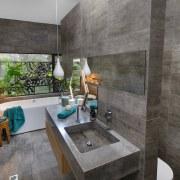 Collins W Collins architecture, bathroom, estate, house, interior design, property, real estate, room, gray, black