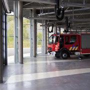 569 firestation motor vehicle, transport, vehicle, gray, black