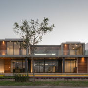 Colima home/Di Frenna Arquitectos architecture, building, elevation, facade, home, house, real estate, residential area, gray