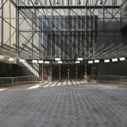 This new headquarters for the European Union Council architecture, building, structure, gray, black