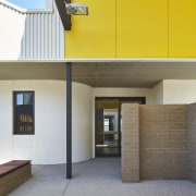 Tom Fisher House architecture, ceiling, daylighting, facade, house, interior design, real estate, gray