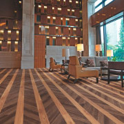 Polyflor Expona Commercial PUR is ideally suited to deck, floor, flooring, hardwood, interior design, laminate flooring, living room, wood, wood flooring, brown