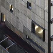 The 925 Building architecture, building, daylighting, facade, metropolitan area, structure, window, black, gray