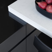 White and black – Popular kitchen colours, and product design, table, black, white