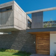 Colima home/Di Frenna Arquitectos architecture, building, corporate headquarters, elevation, facade, home, house, property, real estate, residential area, siding, gray