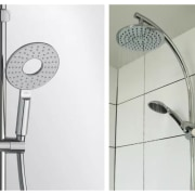 Picking the right shower head for you plumbing fixture, product design, shower, tap, white