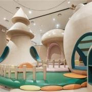 Neobio Family Park interior design, leisure centre, product design, gray
