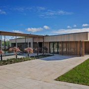 The Lake House – Resene Architectural Design Awards architecture, estate, facade, home, house, property, real estate, residential area, shed, gray, blue