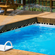 Adding sprinklers makes for a fun addition leisure, leisure centre, property, swimming pool, water, teal