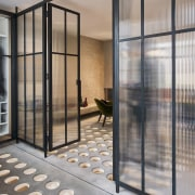 Andy Martin Architecture – Renovation in London architecture, door, facade, glass, real estate, window, gray