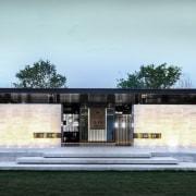 Vanke Park Mansion 'True Love' – FLOscape Landscape architecture, estate, facade, home, house, residential area, black, white