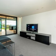 Registered Master Builders – House of the Year house, interior design, living room, property, real estate, room, gray, white