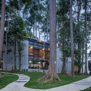 See the home hereArchitect: Chan Chin Yeow, CY architecture, condominium, cottage, home, house, mixed use, neighbourhood, plant, real estate, residential area, tree, black