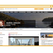 Your new home on Trends Ideas display advertising, multimedia, software, website, white
