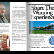 An introduction and a Pan Am (!) ad. advertising, text, white