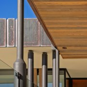 The Lake House – Resene Architectural Design Awards architecture, column, daylighting, facade, lighting, roof, structure, brown