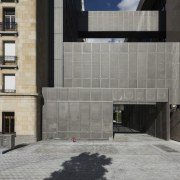 This new headquarters for the European Union Council architecture, building, facade, wall, gray, black