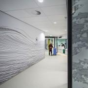 Zaans Medical Centre – Mecanoo architecture, ceiling, daylighting, design, floor, flooring, glass, interior design, wall, gray