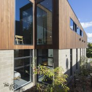 Arrowtown-based Bennie Builders was the only Southern Lakes architecture, building, facade, home, house, real estate, siding, window, black