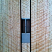 Photo by Amy Gardner architecture, wall, window, wood, gray