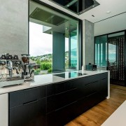 Registered Master Builders – House of the Year countertop, interior design, kitchen, real estate, gray, black