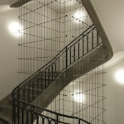 This new headquarters for the European Union Council architecture, baluster, daylighting, glass, handrail, stairs, structure, brown, black