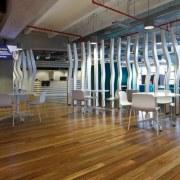 ASB North Wharf floor by Hardwood Technology deck, floor, flooring, hardwood, interior design, laminate flooring, structure, wood, wood flooring, brown, gray