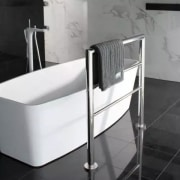 Standing proud – these low voltage, high impact angle, furniture, hardware, plumbing fixture, product, sink, tap, gray, black, white