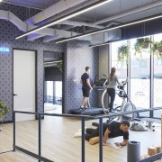 Upwell Health Collective – Siren Design Group Pty structure, white, gray