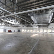 Light & Span – 1:1 daylighting, factory, hangar, structure, warehouse, gray