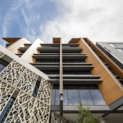Newcastle Courthouse – Cox Architecture apartment, architecture, building, commercial building, condominium, corporate headquarters, daylighting, facade, mixed use, residential area, sky, white, gray