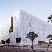 Palace of Justice building | Mecanoo + Ayesa architecture, building, commercial building, corporate headquarters, facade, headquarters, mixed use, white