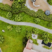Transform your garden into a work of art aerial photography, biome, bird's eye view, grass, plant, vegetation, brown