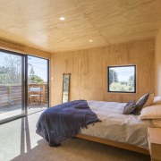 Graham Phipps-Black – Ruby Bay, Nelson house architecture, bedroom, ceiling, daylighting, estate, floor, home, house, interior design, property, real estate, room, window, wood, orange