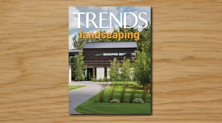 TRENDS MINI COVER 11 landscaping - architecture | architecture, botanical garden, botany, building, estate, facade, garden, grass, home, house, landscape, landscaping, lawn, plant, property, real estate, residential area, tree, brown, gray