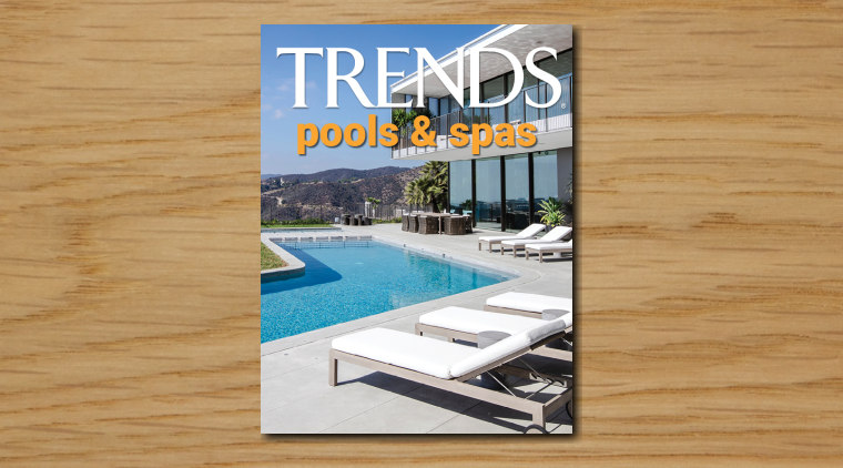 TRENDS MINI COVER 12 pools spas - architecture architecture, building, condominium, design, furniture, home, house, interior design, leisure, magazine, property, real estate, residential area, roof, sunlounger, swimming pool, white