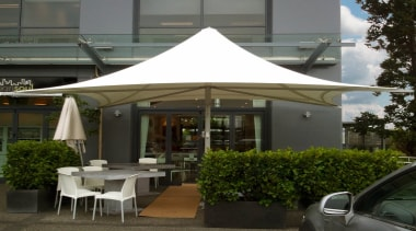 Summit Parasols - canopy | gazebo | outdoor canopy, gazebo, outdoor structure, shade, tent, black, gray