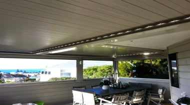 Silencio Rotating Louvres - canopy | ceiling | canopy, ceiling, daylighting, outdoor structure, real estate, roof, shade, gray, black