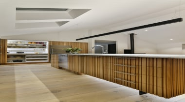 Half Moon Bay - architecture | ceiling | architecture, ceiling, daylighting, floor, flooring, furniture, interior design, lobby, wood, gray, brown