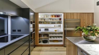 Half Moon Bay - countertop | interior design countertop, interior design, kitchen, gray, brown
