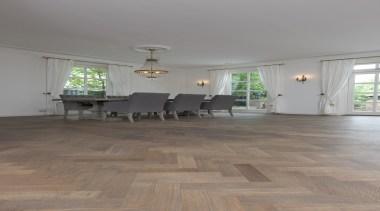 Beautiful Parquet Herringbone Floor - ceiling | floor ceiling, floor, flooring, hardwood, home, house, interior design, laminate flooring, living room, property, room, table, tile, wood, wood flooring, gray