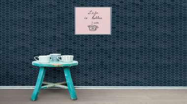 Beton Still Hex Mosaics are made in Italy blue, floor, font, table, turquoise, wall, wallpaper, blue, gray