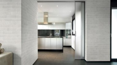 The Tile Depot stocks three colours, including the architecture, floor, flooring, interior design, kitchen, lobby, real estate, tile, wall, gray, white