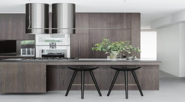 Bruce Stafford Architects – Highly Commended – 2018 countertop, cuisine classique, furniture, interior design, kitchen, product, gray