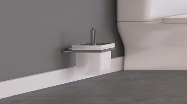 • 5 year warranty • Stylish and modern angle, bathroom sink, floor, plumbing fixture, tap, gray