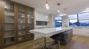 St Heliers III - countertop   interior design countertop, interior design, kitchen, property, real estate, gray, brown